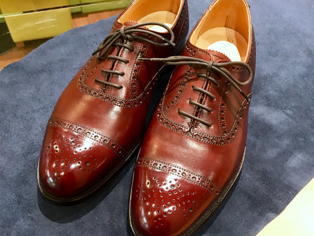 プレケア 履きおろし前の靴磨き