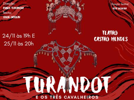 Festival de Dança do CCG traz a ópera Turandot
