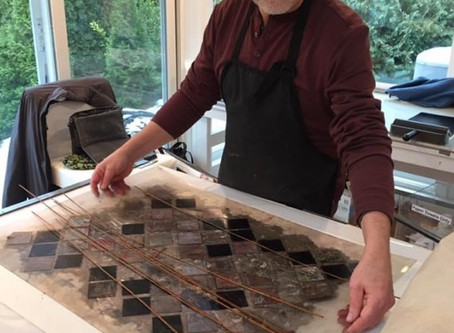 Exploring Patterns and Rhythm with François Cormier, Printmaker