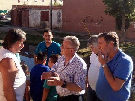 Rubén Romano: ''Debemos devolverle la dignidad a los vecinos que viven inundados en aguas servidas''