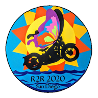 It's Official2020!!  R2R Will be in San Diego Mark your calendar now Thursday April 30th to Sunday May Sunday May 3rd  This will be a very special R2R, so wax down your surf board, get out your baggies, and Huarachi sandals too, and start planning for Californi-a. The organization that this years R2R is supporting is the Butterfly Project. The Butterfly Project (Zikaron V'Tikvah ~ Hebrew for Remembrance and Hope) was co-founded in 2006 by educator Jan Landau and artist Cheryl Rattner Price. Jan and Cheryl started this as an initiative at San Diego Jewish Academy to take Holocaust education out of the textbook and bring it to life in a way that inspires students to make the world a better place.   The host hotel will be the San Diego Del Mar DoubleTree. The details along with general R2R registration information will be announced in the next newsletter coming out before the Holidays, but it is not too soon to start making your travel plans. A word about travel; With most of us living east of the Mississippi and in many cases cold climates at that, the California venue presents some challenges as well as opportunities. Let's talk about the opportunities first. You get to ride in some of the most interesting and fun parts of North America. The Grand Canyon, the Painted Desert , the Sierra Nevada's , the California coast. For many of us this will be the trip of a lifetime.  The challenges for many of us are obvious. Crossing the continent can take a lot of time and resources which many of us do not have. Stay tuned, details for possible travel plans will be in the newsletter coming out shortly, as well as details on the entire R2R. This R2R promises to be exceptionally meaningful and fun. You do not want to miss it. More details to follow;  In the mean time, here are the bike rental links.  Stay tuned for multi location discount links for Eagle Rider Cycle Visions  http://www.cyclevisionsrental.com/    Online Bike Rentals From Private Parties https://www.riders-share.com/ https://www.twistedroad.com/