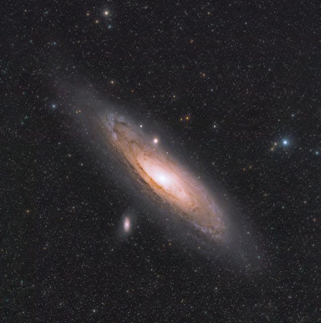 astrophotography on a canon 60DA
