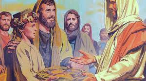 Jesus Feeds 5,000 plus People with a Boy's Lunch-John 6:5-14