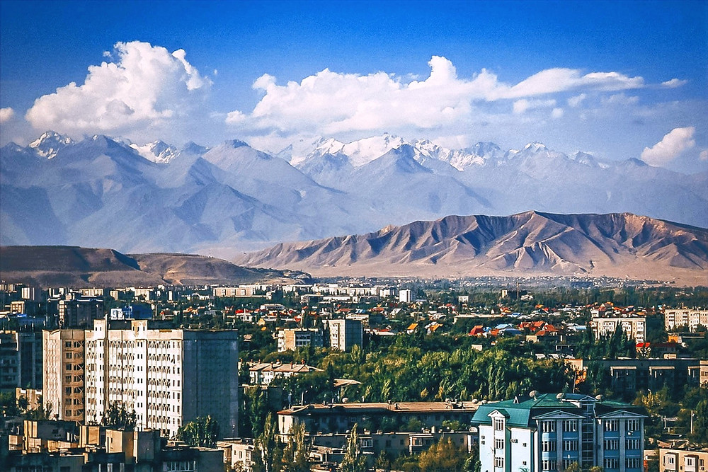 Tian-Sham mountain range borders Kyrgyzstan and China. Central Asia Travel Agencies like CentrAsia Tours does guided tours there.