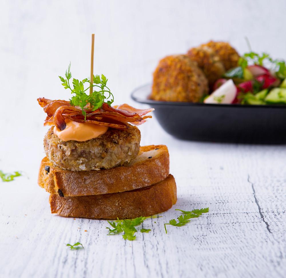 Maltinukas a'la burgeris, VMG receptai