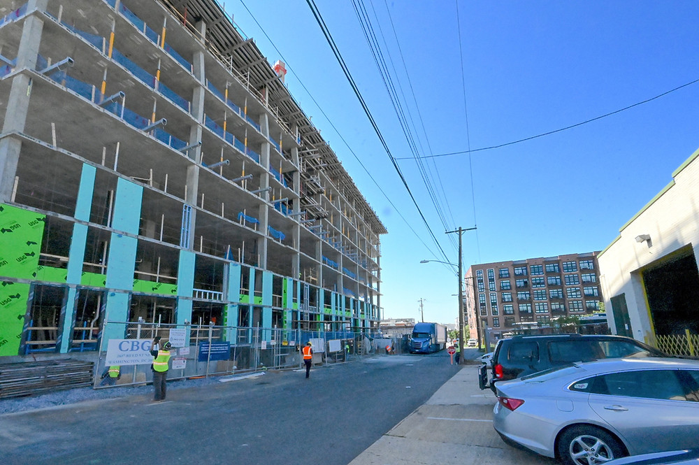 SK&I Architecture designed Brookland's Reed Street project, replacing industrial sites with a new residential building