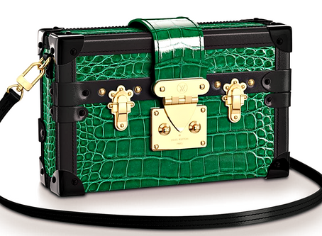 Uncovering The Secrets Of LV's Mini Trunk Clutch - 'Petite Malle'