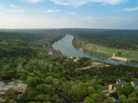 Around Austin-Rarely Seen Lake Austin View
