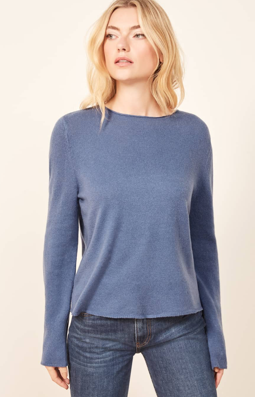 The Reformation, sweater, cashmere, recycling