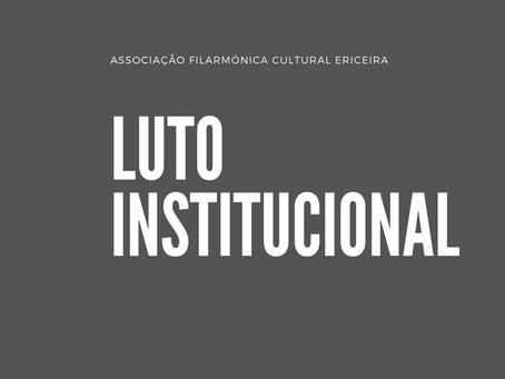 Luto Institucional à memória de Horácio Martins Mano