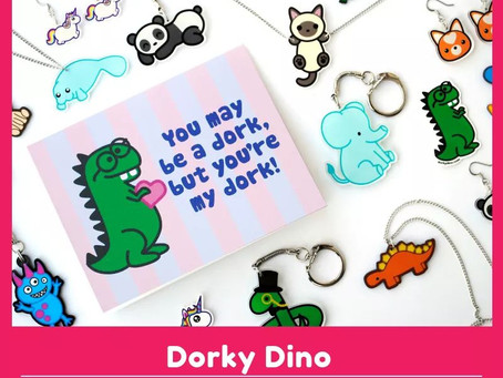 Dorky Dino will be at GeekCraft Expo KC