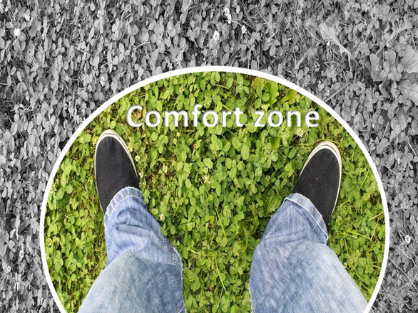 Change is beyond our Comfort Zone