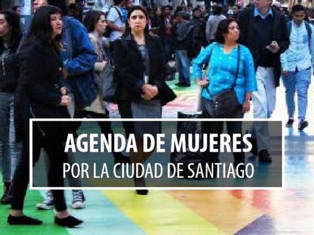 Agenda de Mujeres por la ciudad de Santiago