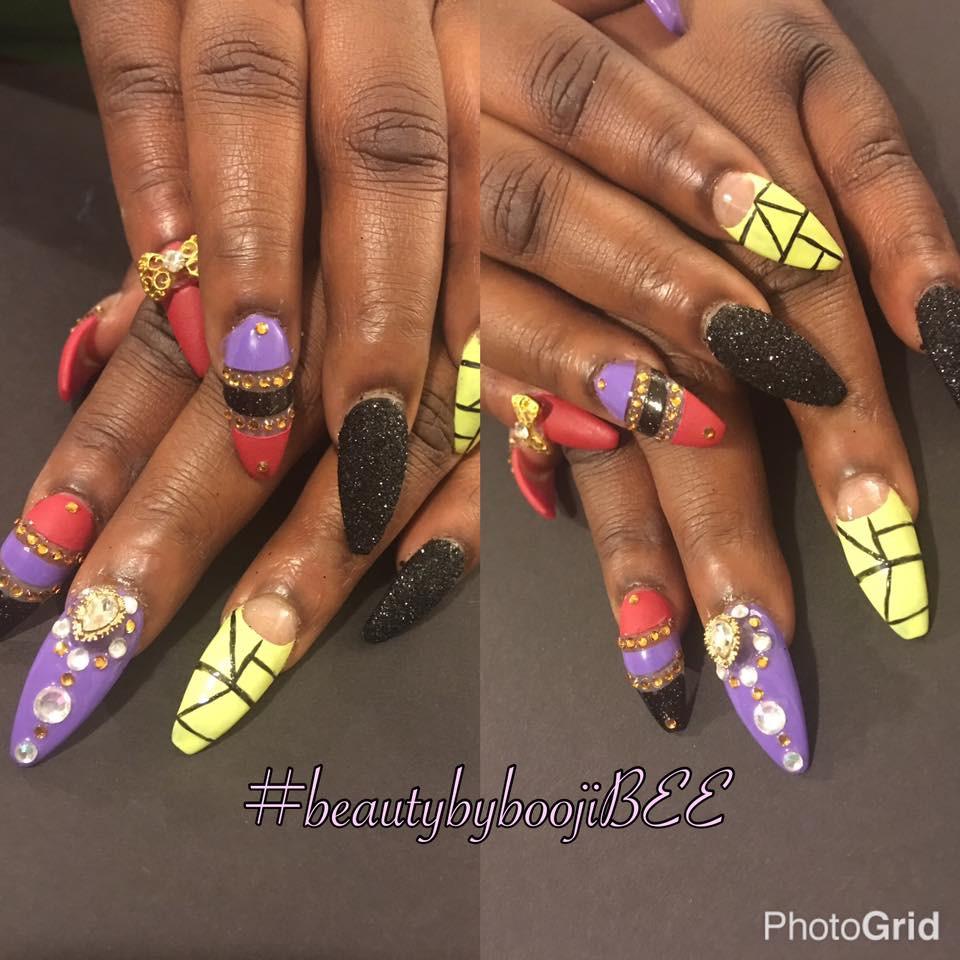 Acrylic #nails by #BoojiBEE #Atlanta
