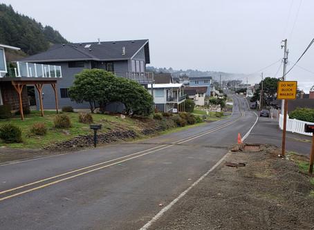 New Drainage on Logan Road