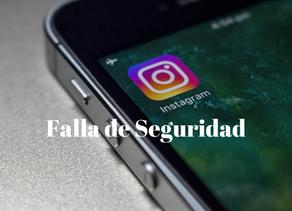 Falla de Seguridad en Instagram