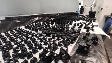 Impressão 3D de miniaturas RPG - Produção em escala