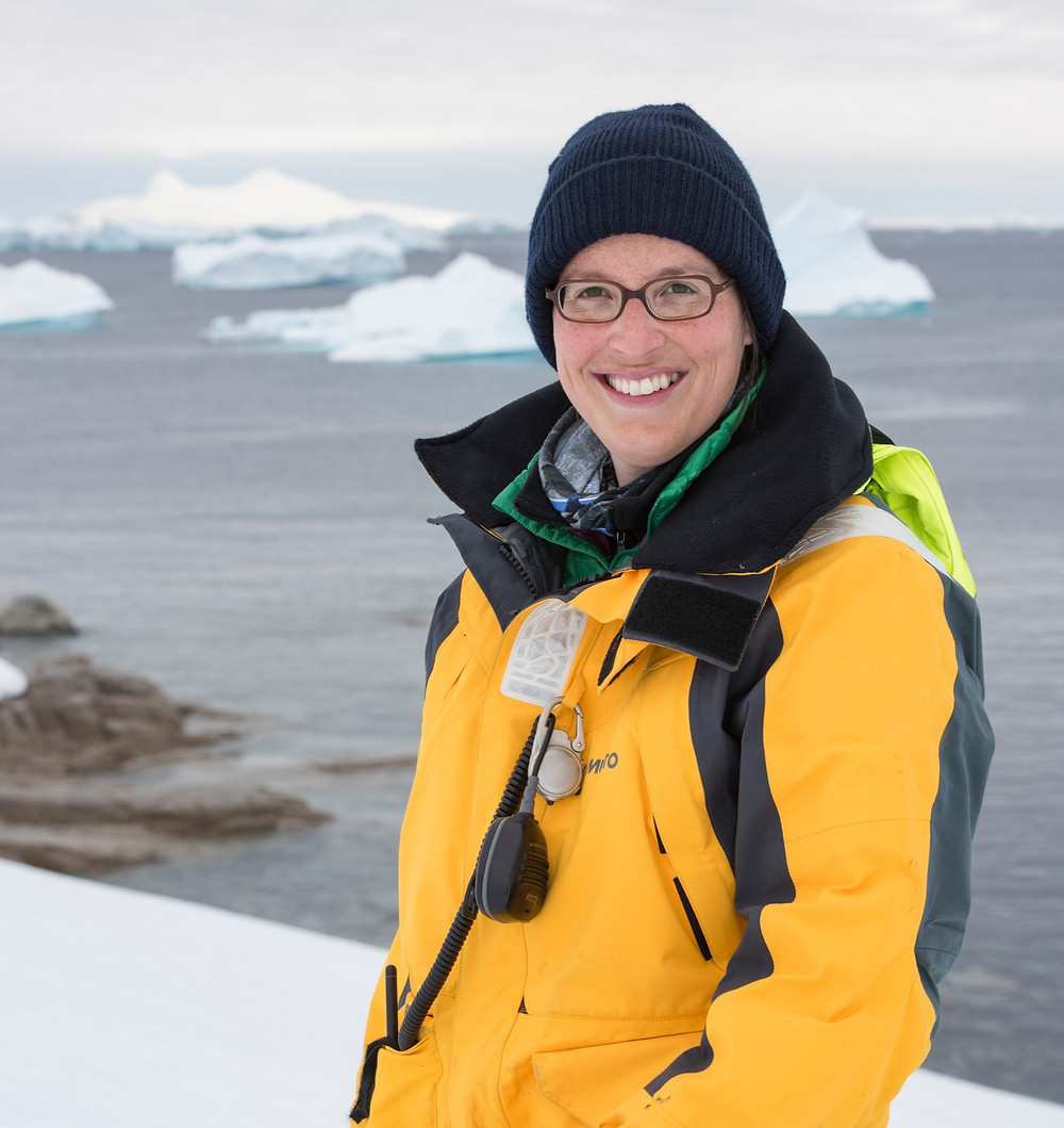 Sandra Walser, polar historian, antarctica, historian, assistant expedition leader, expedition guide, expedition guide academy, expedition guide training