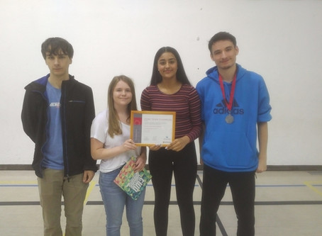 CAA Students Win Math Contest