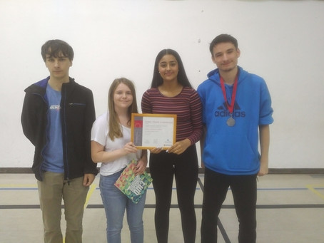 CAA Students Win Math Contest