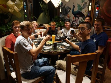 Treffen mit den Chinesischen Austauschpartnern