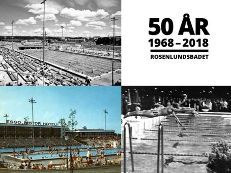 Rosenlundsbadet firar 50 år