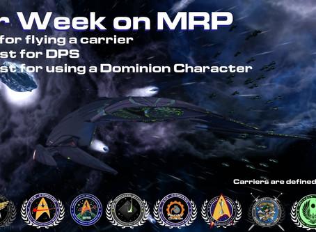 Carrier Week on MRP