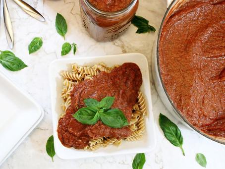 Veggie-Packed Pasta Sauce
