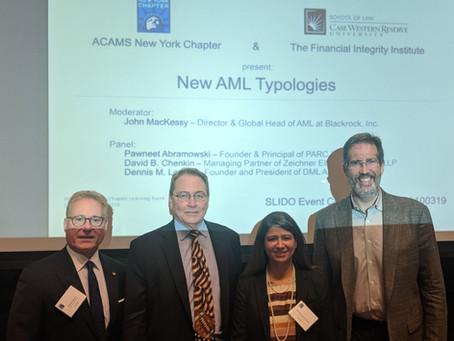New AML Typologies