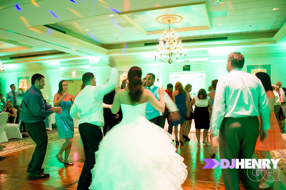 keepingthe dance floor moving! Erie DJs GQ Events know how to get people dancin'!!