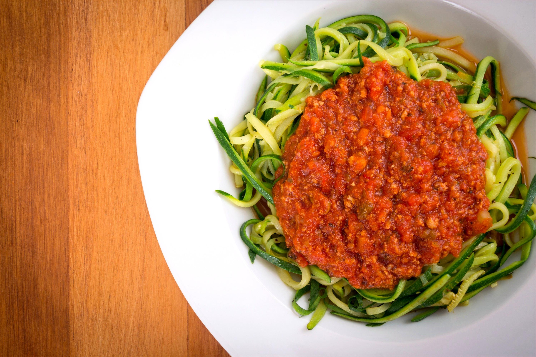 Grain-free Zucchini Spaghetti