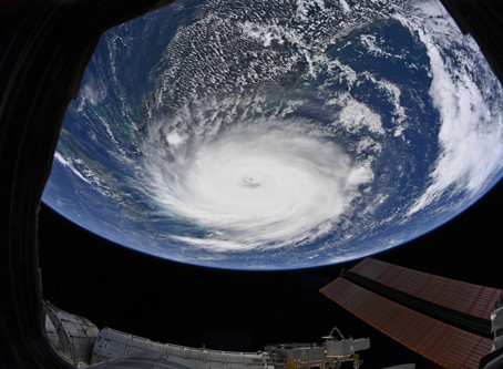 Stunning pictures from hurricane Dorian