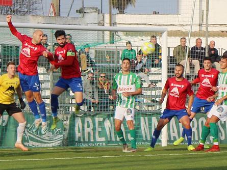 El CP Villarrobledo inicia el año 2020 con una derrota ante el Sanluqueño