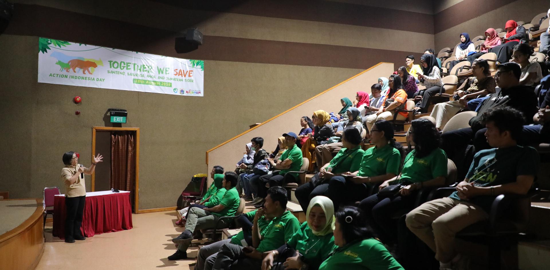 Training in Indonesia