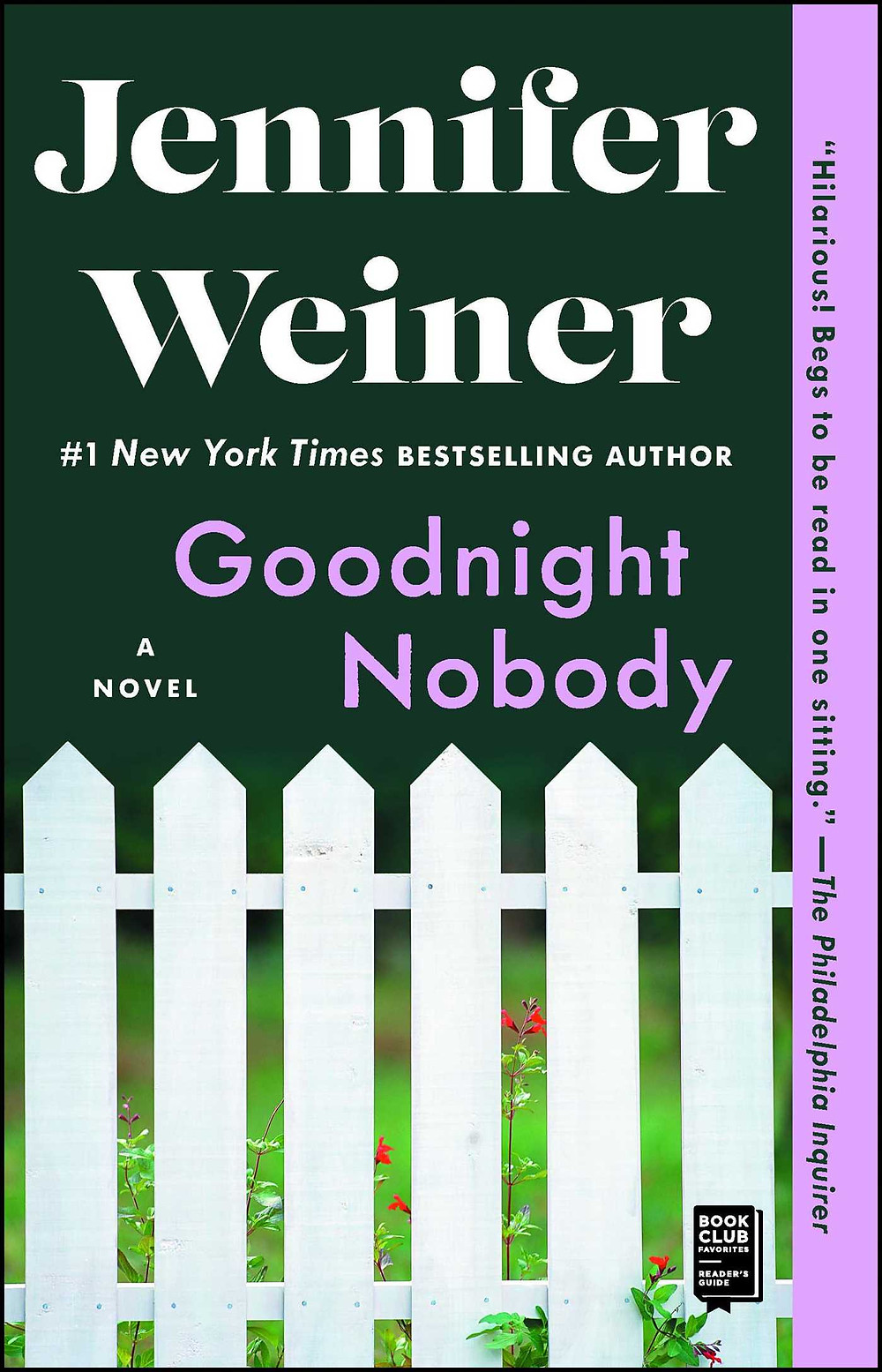 Goodnight Nobody by Jennifer Weiner : the book slut book reviews thebookslut