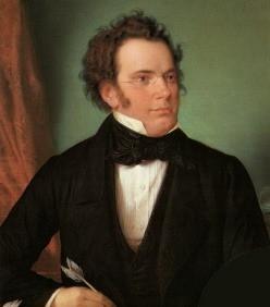 Composer Franz Schubert