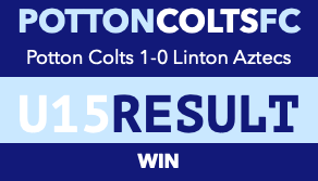 Potton Colts 1-0 Linton Aztecs