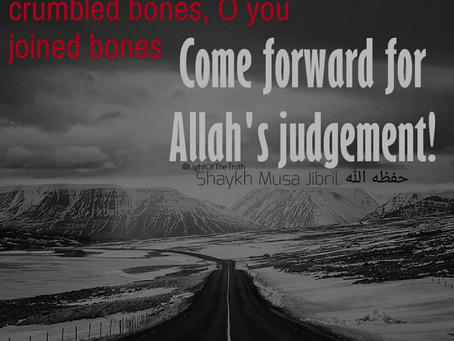 WHAT HAVE YOU PREPARED FOR THIS DAY?! [The commencement of judgement]