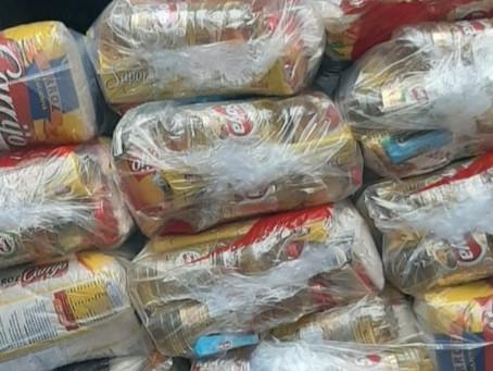 Emive doa 84 cestas para a campanha Comunidade Viva sem Fome