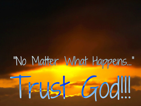 Ministers Monday Moment - Trust God