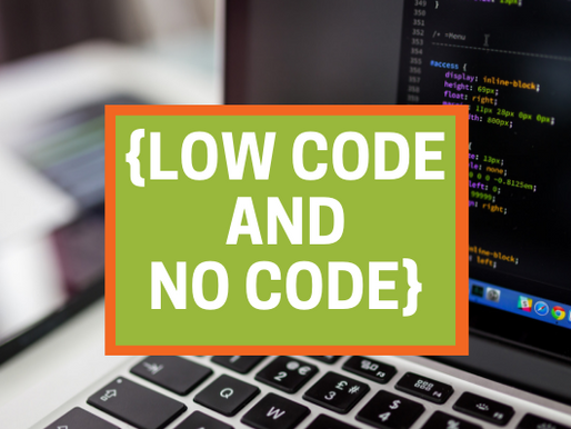 Is No Code/Low Code the future of business apps?