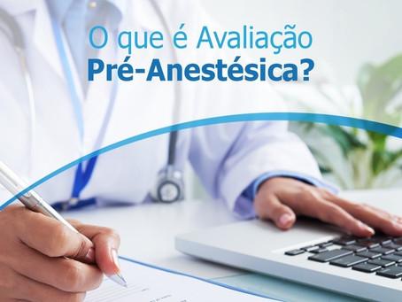 Objetivos da Avaliação Pré-Anestésica