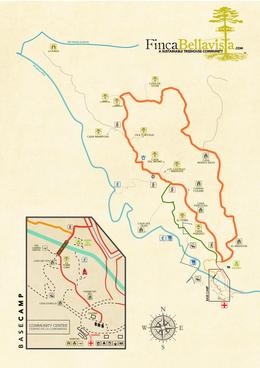 Finca Bellavista map