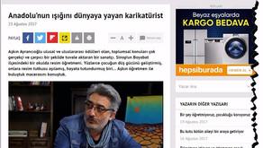 Anadolu'nun Işığını Dünyaya Yayan Karikatürist
