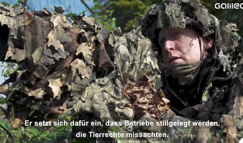 Pro 7-Beitrag mit Friedrich Mülln