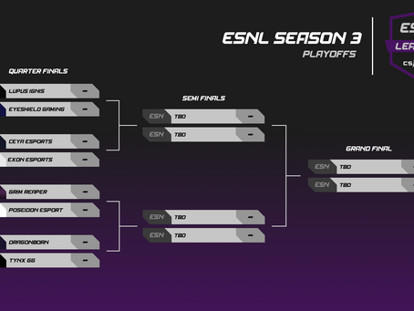 ESNL Season 3 Finals Weekend