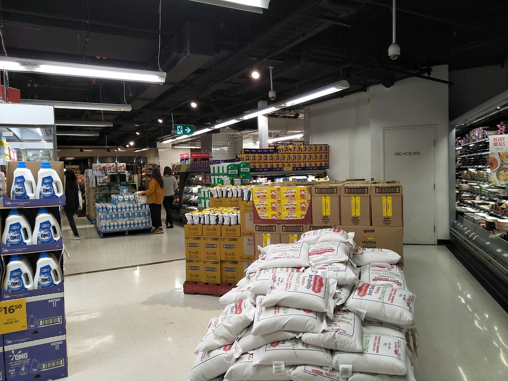 No lack of food and household items at Coles Melbourne Central during COVID-19 lockdown