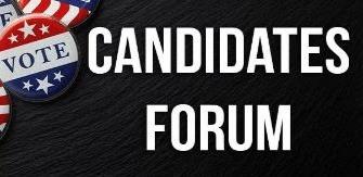 Candidates Forum: Thursday, June 4