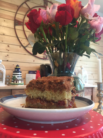 Ultimate Door County Cherry Coffeecake