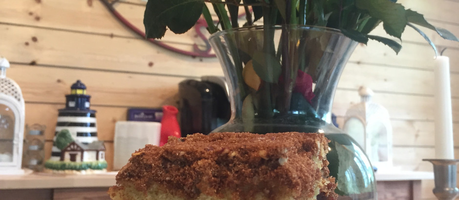 Ultimate Door County Cherry Coffeecake